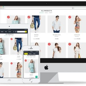 Entrepreneur eCommerce Website